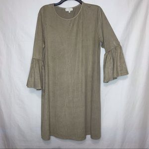 Simply Southern XL Tan Dress